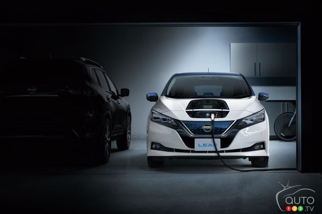 Nissan's LEAF E-Plus will make debut at CES in January