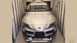 First image of 2020 Toyota Supra without camouflage