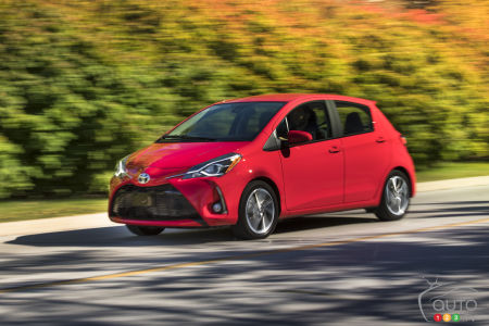 2019 Toyota Yaris Hatchback Details Pricing For Canada Car News