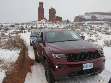 The Moab in 3 Jeep Trailhawk Editions!