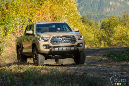 Toyota issues recalls for Tacoma and Lexus LX570