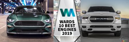 10 Best Engines of 2019 According to Wards