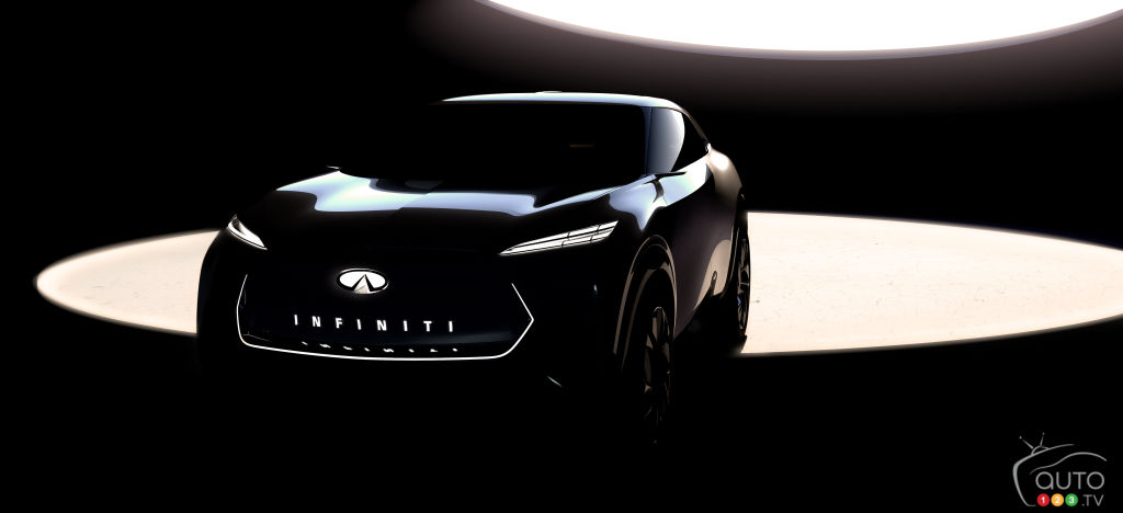 INFINITI Gives First Look at its Electric SUV Ahead of Detroit Launch
