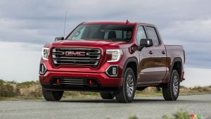 2019 GMC Sierra AT4 Gets Off-Road Performance Add-Ons