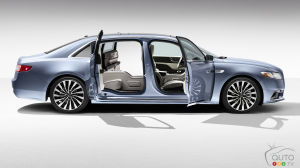 Lincoln Continental Gets Suicide Doors for 80th Birthday