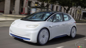 Volkswagen I.D.: Two Versions of VW's Future Electric Hatchback