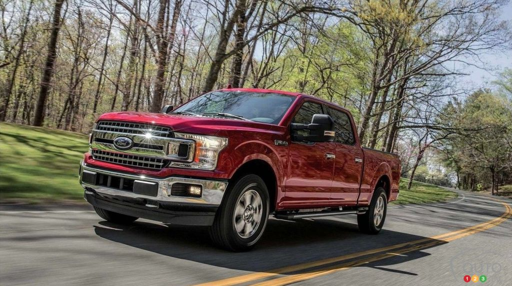 Ford Recalling 874,000 F-Series Pickups Over Fire Risk