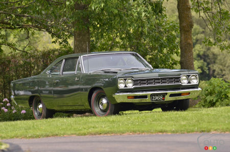Essai de la Plymouth Road Runner HEMI 1968 : pour adultes avertis…