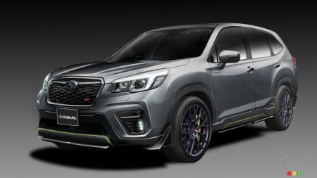 Subaru Teases Forester STI and Impreza STI Concepts Ahead of Tokyo Debut