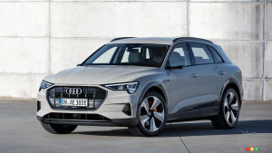 Audi Working on Smaller Electric Crossover for 2021?
