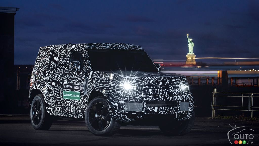 Land Rover Confirms North American Return of the Defender