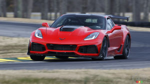 Inside the 2019 ZR1 As It Sets New Lap Record