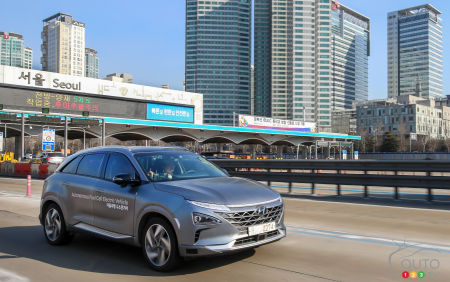 Hyundai self-driving cars: initial testing is successful