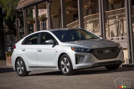 2018 Hyundai Ioniq Plug In Hybrid Effective Even Winter
