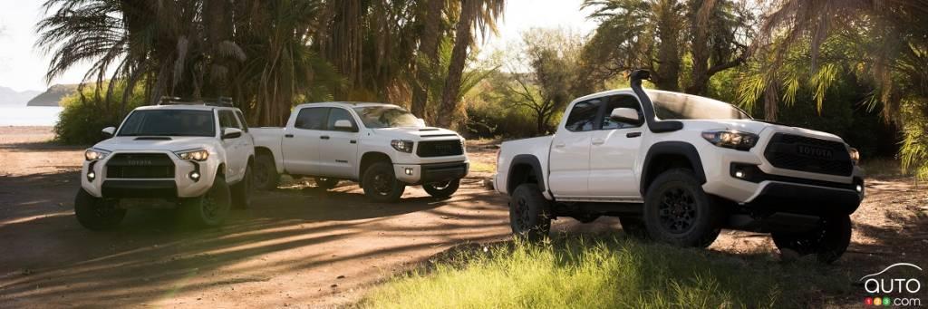 Chicago 2018 : Toyota dévoile ses nouveaux modèles TRD Pro 2019