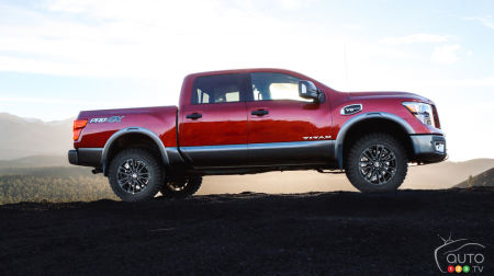 Chicago 2018: A Suspension Lift Kit for Nissan's Titan