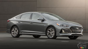 Chicago 2018: Meet the 2018 Hyundai Sonata Hybrid!