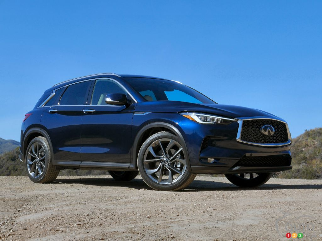 2019 INFINITI QX50, a state-of-the-art luxury crossover