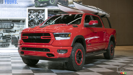 Chicago 2018: New 2019 RAM 1500 and its Mopar Accessories