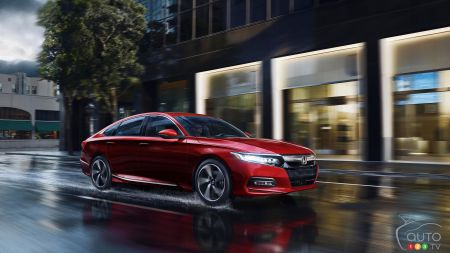 Honda Accord, Chrysler Pacifica Named 2018 Canadian Vehicles of the Year