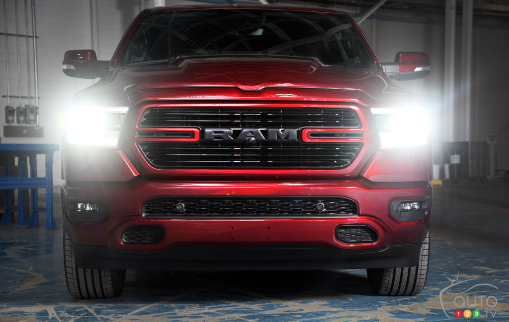Toronto 2018: New 2019 RAM 1500 Sport, a Canadian Exclusive!