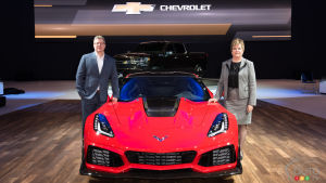 Toronto 2018: Chevrolet Shines with Corvette ZR1, New Silverado