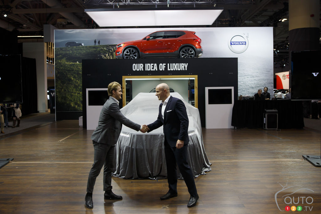 Toronto 2018: First Volvo XC40 in Canada Goes to… a Maple Leaf!