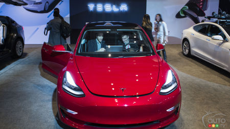 Toronto 2018: Tesla Model 3 Makes First Canadian Appearance