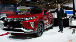 Toronto 2018: The new Mitsubishi Eclipse Cross Debuts