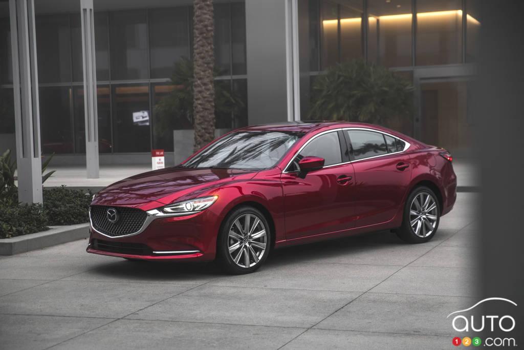 Mazda 6 2018 price