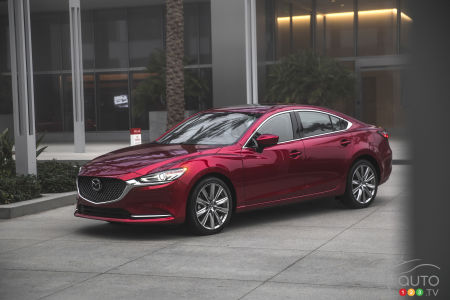 Canadian Pricing For 2018 Mazda6 Announced Car News Auto123
