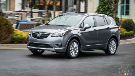 Redesigned Buick Envision Coming for 2019