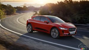 The all-new 2019 Jaguar I-PACE with 386 km of range