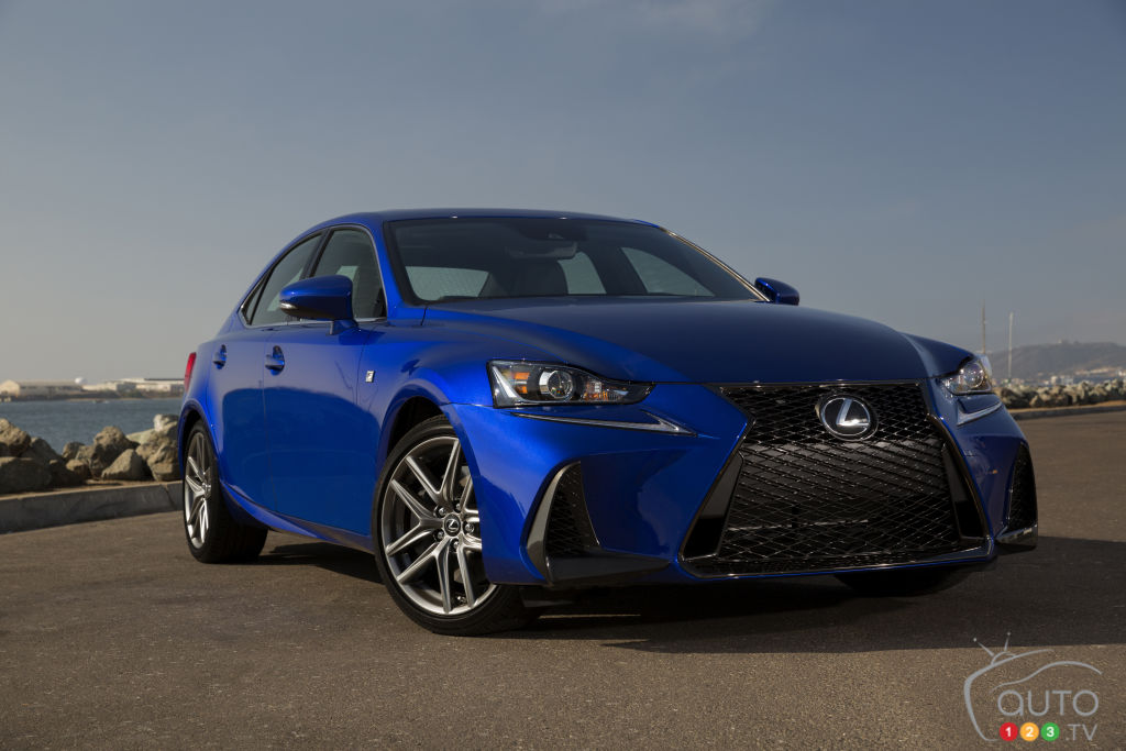 The 2018 Lexus IS 350 AWD, A Vanilla-Flavoured Sport Sedan