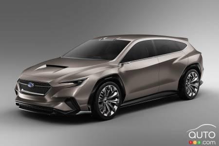 subaru unveils viziv tourer concept in geneva car news auto123