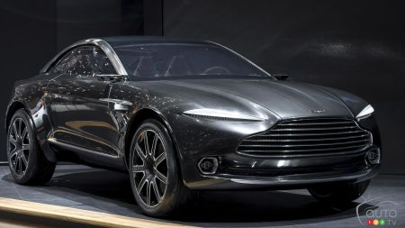 New Aston Martin SUV to be named Varekai