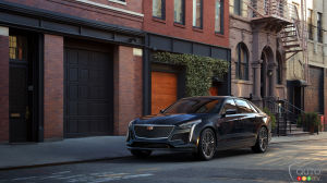 Cadillac Announces 550-hp V-Sport  CT6 for 2019