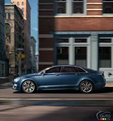 Review Of The 2018 Lincoln Mkz Car Reviews Auto123