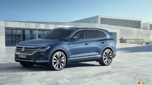 Volkswagen Unveils new Touareg in China