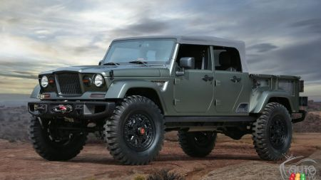 Jeep Wrangler Pickup Headed for Production