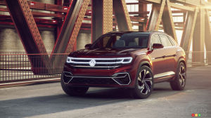 New York 2018 : 2 VW Concepts, the Atlas Cross Sport Concept and the Tanoak