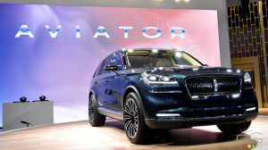 New York 2018: Lincoln Aviator on the runway in the Big Apple