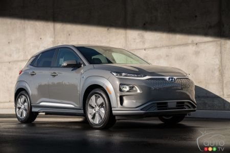 New York 2018: Hyundai Kona Electric Makes Its Appearance