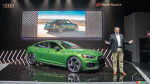 The Audi RS5 Sportback brings its 444 hp to New York