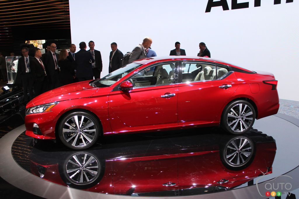New York 2018: 2019 Nissan Altima Gets AWD, Variable Compression Turbo