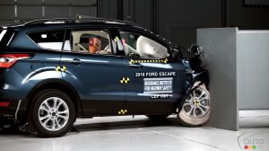Ford Escape Flunks Frontal Collision Test