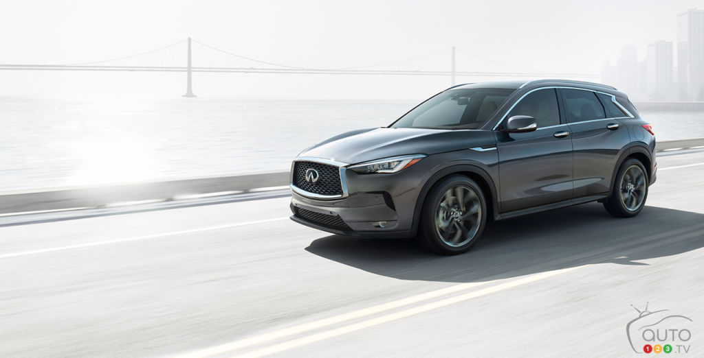 Canadian Prices Announced for 2019 INFINITI QX50