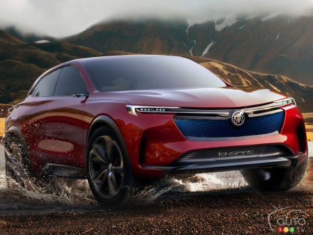 Superb Buick Enspire SUV Concept Unveiled in China