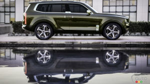 Kia Telluride: Design Trend Setter for Brand's Other SUVs?