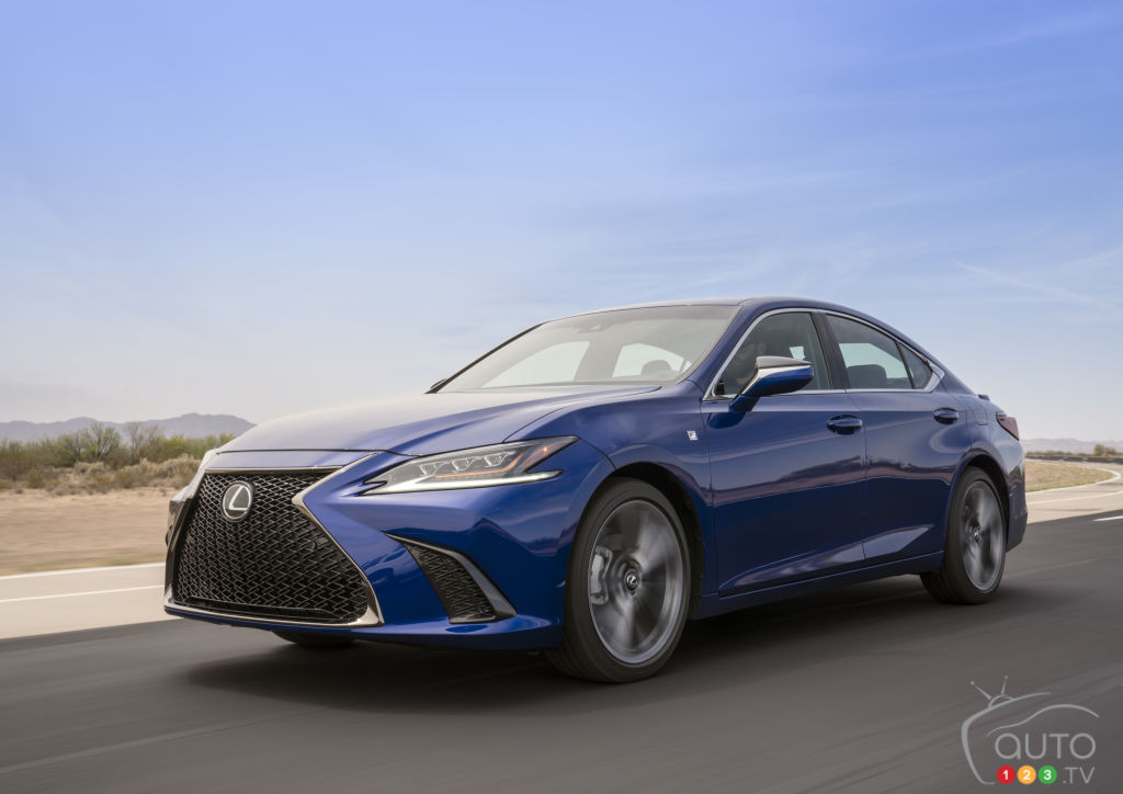 Beijing 2018: The New 2019 Lexus ES Resets Expectations for the Model